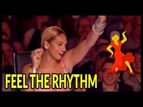 Top 7 'Judges Can't Sit' It's Too Much FUN... Let's Dance Moments On Got Talent UK!
