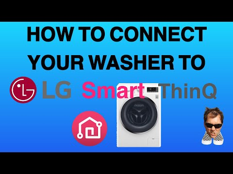 LG Smart ThinQ Washer How to Connect to your WIFI - YouTube