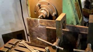 обработка листового металла на фрезерном  станке