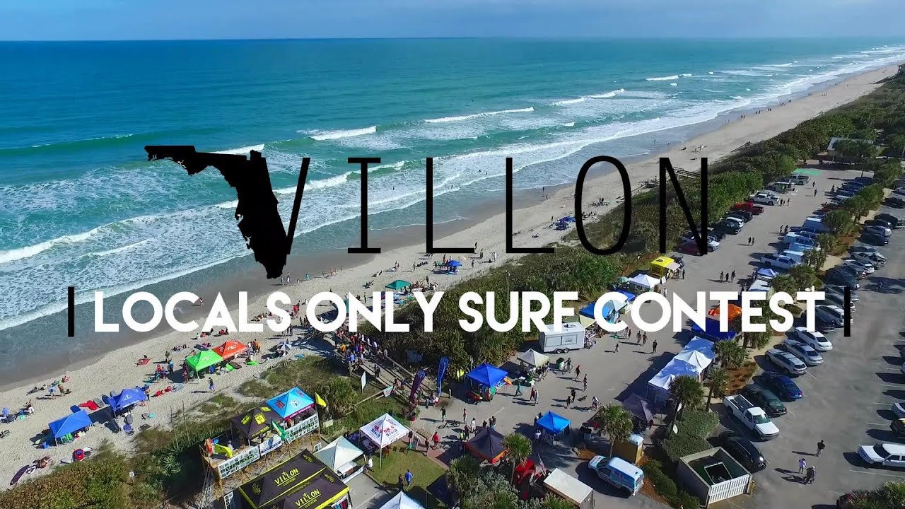 Locals Only Surf Contest Villon Clothing Youtube