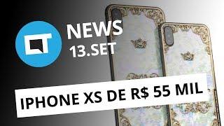 "iPhone Xs de R$ 55 mil; Nubank ""congela"" dólar; Huawei cutuca Apple e+ [CT News]"