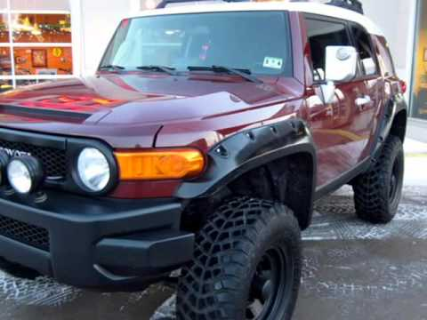 2008 Toyota Fj Cruiser Custom 4x4 With Lift Kit And Loaded