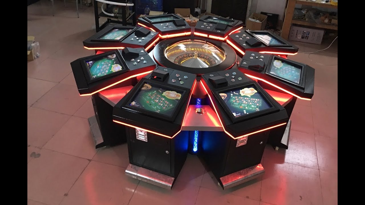 Electronic Roulette Game