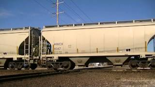 BNSF 6761 leads westbound manifest Vinita Oklahoma.