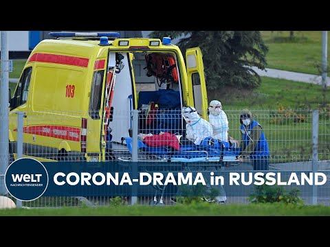 GERINGE IMPFQUOTE: RUSSLAND erlebt neuen Höchststand bei Corona-Todeszahlen