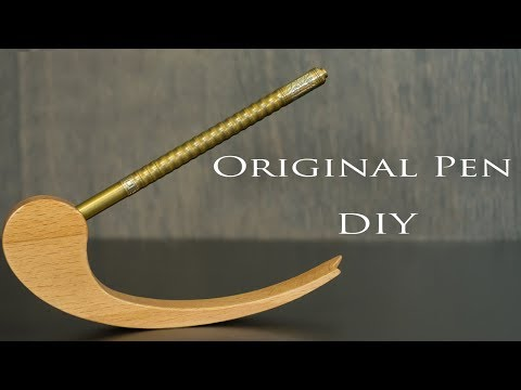 Original Pen  DIY + Lathe