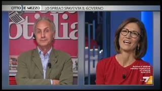 Marco Travaglio e un' imbarazzante Gelmini a Otto e Mezzo 24/10/18