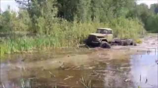 Зил 131 на кразовских колесах)))...
