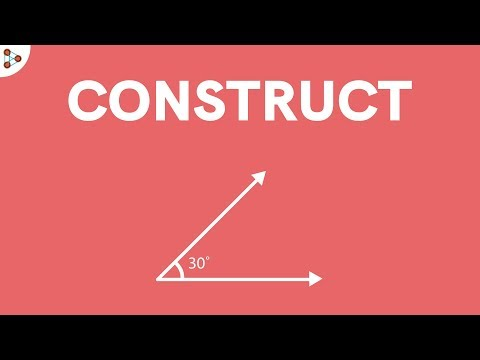 How do we Construct a 30 Degree Angle?