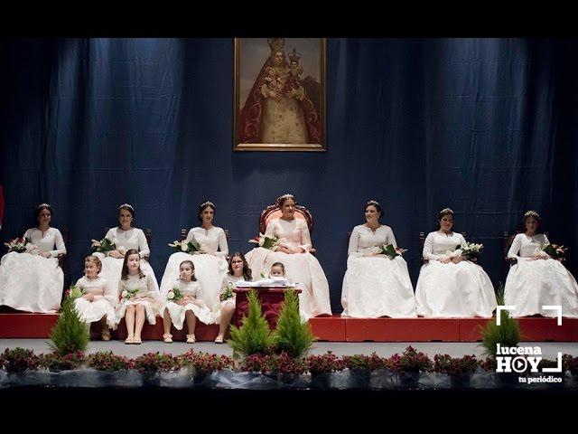 VÍDEO: Fiestas Aracelitanas: Acto de Proclamación Oficial de la Corte Aracelitana 2017