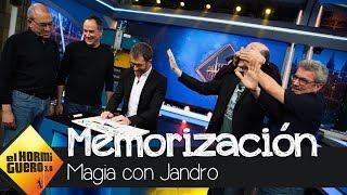Jandro sorprende a 'Los Lobos' con su increíble capacidad de memorización - El Hormiguero 3.0
