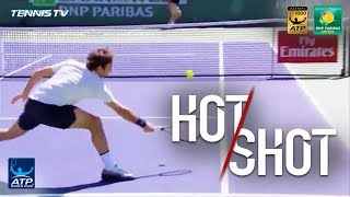 Federer Double Dose Of Hot Shots In Indian Wells Final