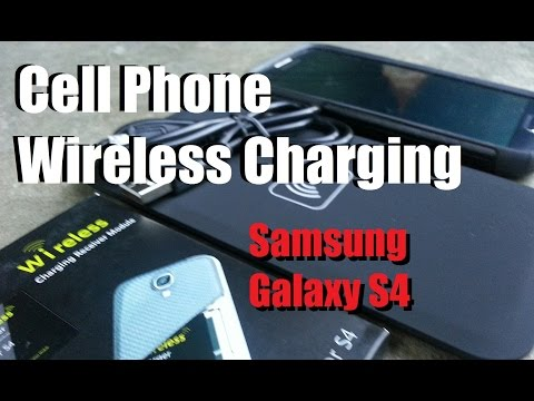 Cheap & Simple Wireless Charging - Cell Phones (Samsung GS4)