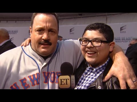 'Modern Family' Star Rico Rodriguez Takes Over 'Paul Blart: Mall Cop 2' Premiere