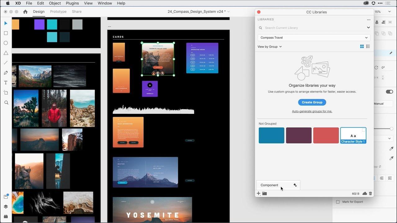 Enhanced CC Libraries Integration – Adobe XD November Release 2019 | Adobe Creative Cloud