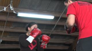 Valley Woman Boxes To Honor Brother