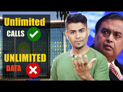 Why Voice Is Unlimited And DATA Is Not ?   Why No One Provide Unlimited DATA ?