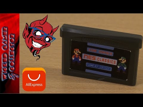 Ultimate GBA / Game Boy Advance - 150 in 1 NES Remix / Famicom Multi Game Cart Review & Gameplay