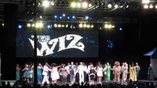 The Wiz is 40 at #summerstage30 curtain call