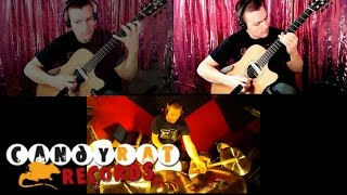 "Ewan Dobson feat. Zack B. - ""Autumn Red"" - Acoustic Metal"