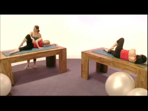 Pilates Exercises: Side Kick and Swimming
