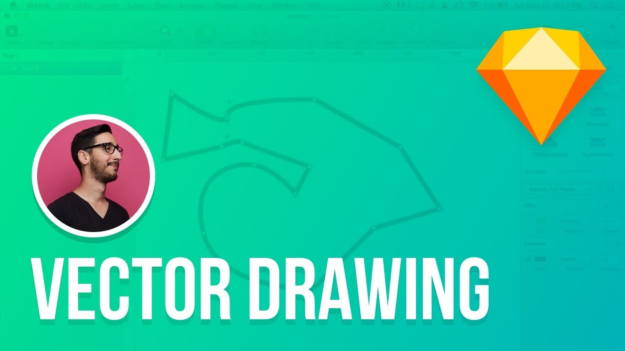 Sketch 3 tutorial drawing vector shapes