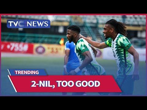 [WATCH]  Iheanacho's Double Seals Win For Super Eagles Over Liberia
