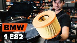 Kā nomainīt gaisa filtrs BMW 1. Sērija E82 [AUTODOC VIDEOPAMĀCĪBA]