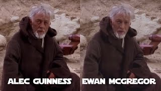 A New Hope but Obi Wan is played by Ewan McGregor (DeepFake)