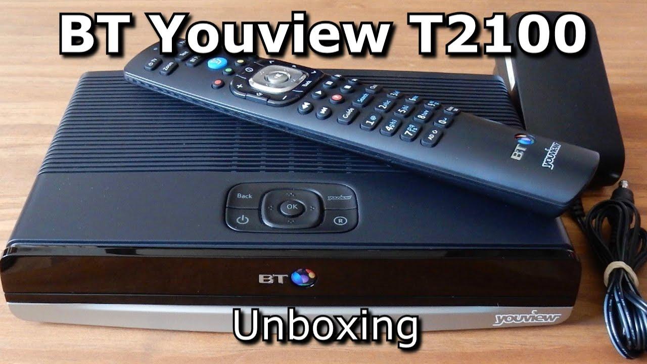 82de8a284116 BT T2100 Youview+ Box - Unboxing. Simple Reviews