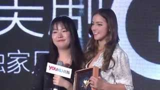Chloe Bennet interview for youku Thumbnail