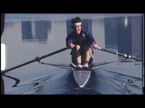 John Biglow US1X Sculling Charles River Cambridge, MA 1981