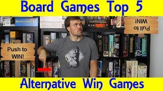 Top 5 Alternate Win Board Games