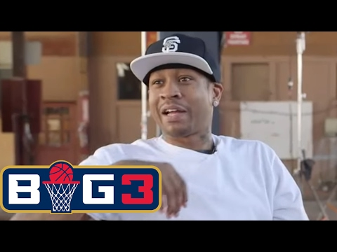 Michael Rapaport interviews Allen Iverson | BIG3 on FS1 | FO