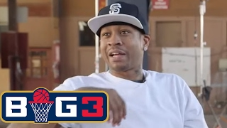 Michael Rapaport interviews Allen Iverson | BIG3 on FS1 | FOX SPORTS