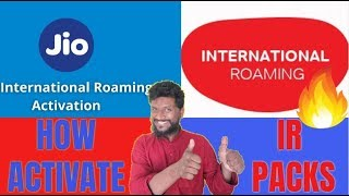 International Roaming Activation | Jio International Roaming | Airtel International Roaming