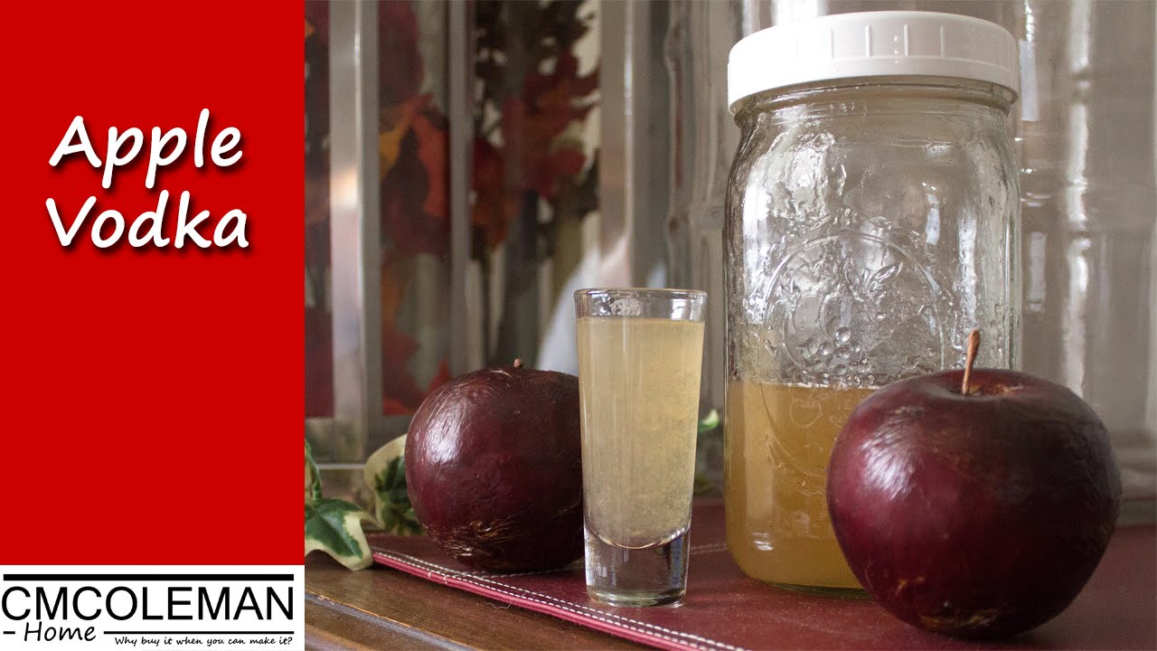 How to make apple flavored vodka cmcoleman home a for How to make flavored martinis