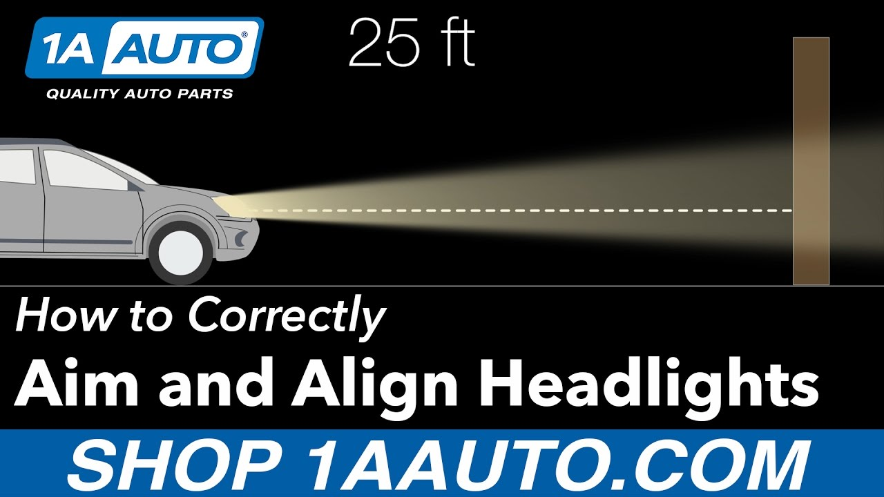 How to Aim and Align your Headlights Correctly  YouTube