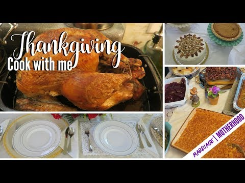 Thanksgiving 2017 Vlog + Cook with me