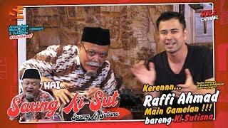 Kisut, Raffi Ahmad pilih Jokowi atau Prabowo ? - Saung KiSut (Ki Sutisna)