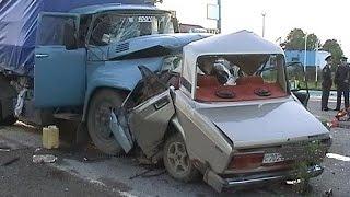 #10 Ужасные аварии лоб в лоб ДТП ! Crash head-on 2015 !(Ужасные аварии лоб в лоб ДТП - Crash head-on 2015 ! Наш канал RusCrashChanel ..., 2015-12-25T13:46:36.000Z)