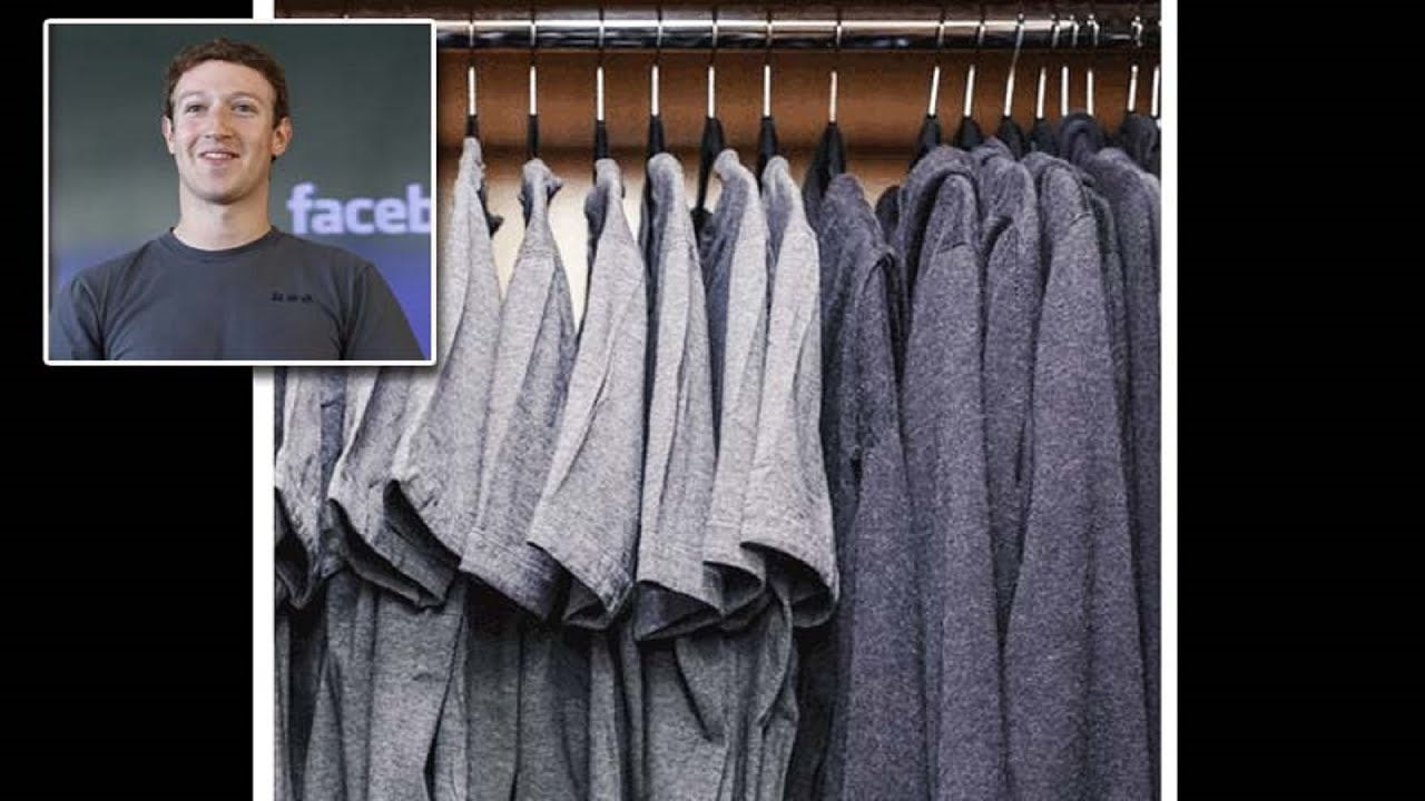 Mark Zuckerberg Wears the Same Clothes to Work Everyday? - YouTube