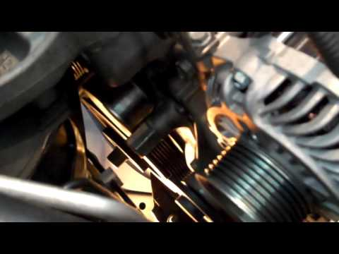 Civic 2005-2011 Belt Tensionser Pulley Replacement - YouTube