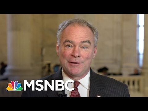 Senator Tim Kaine: Public Outcry Will Help Democrats Do Their Jobs Better | Morning Joe | MSNBC