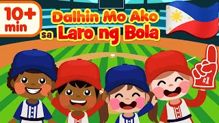 Take Me Out To The Ball Game in Filipino | Awiting Pambata Compilation | Nursery Rhymes & Songs
