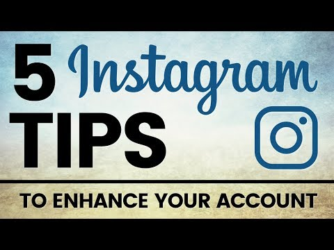 Instagram Social Media Marketing to Enhance your Account - Social media tips for small business 2017