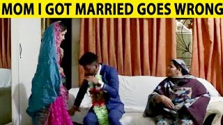 MOM I GOT MARRIED | Goes Emotional | Lahori PrankStar