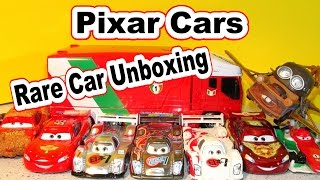 Disney Pixar Cars Unboxing Rare Shu Todoroki with Mater Lightning McQueen and Jeff Gorvette