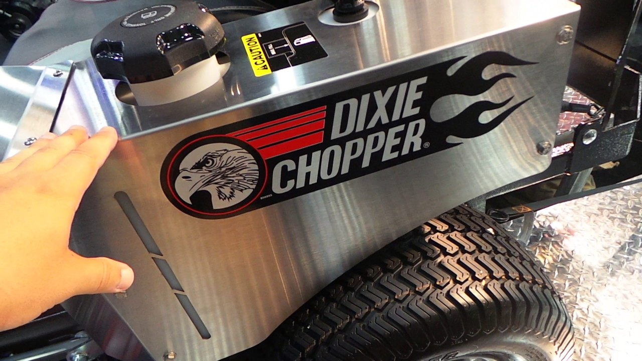 Dixie Chopper Oil Change by Chad Myers73