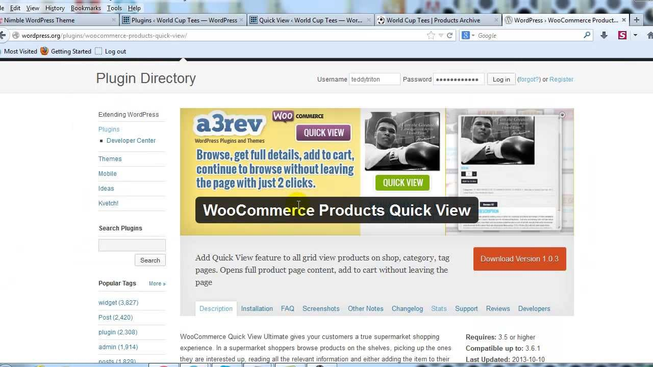 db405a3520b0 WooCommerce Products Quick View Extension - YouTube